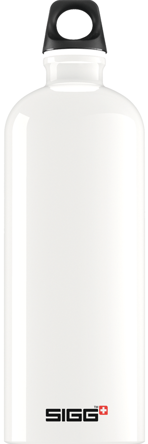 SIGG 1,0 L Traveller White juomapullo