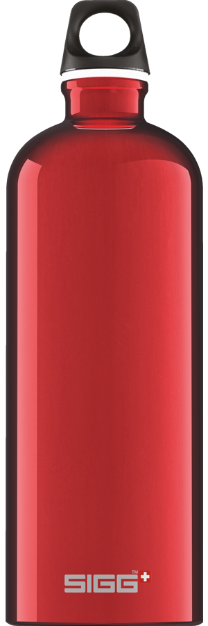 SIGG 1,0 L Traveller Red juomapullo