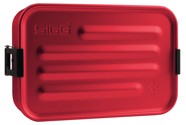 SIGG Metal Box Plus S Red metallinen evŠslaatikko