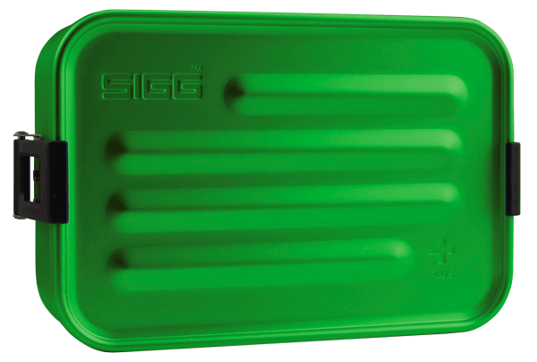 SIGG Metal Box Plus S Green metallinen evŠslaatikko