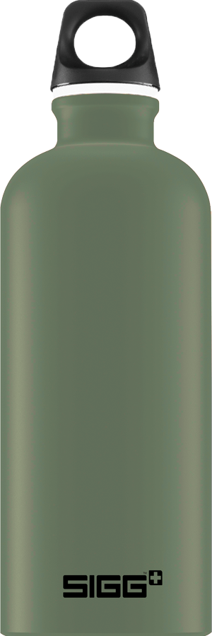 SIGG 0,6 L Traveller Leaf Green juomapullo