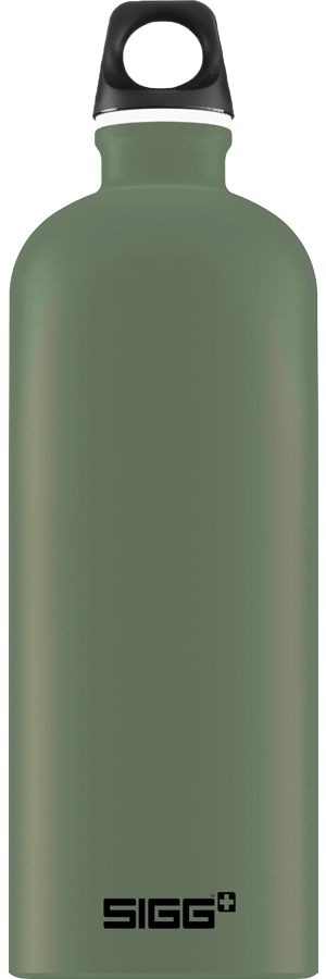 SIGG 1,0 L Traveller Leaf Green juomapullo