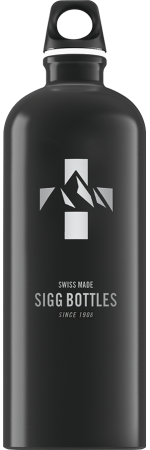 SIGG 1,0 L Mountain Black juomapullo