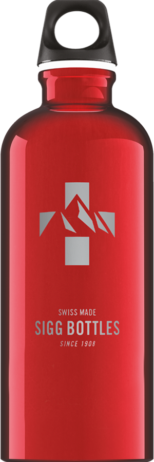 SIGG 0,6 L Mountain Red juomapullo