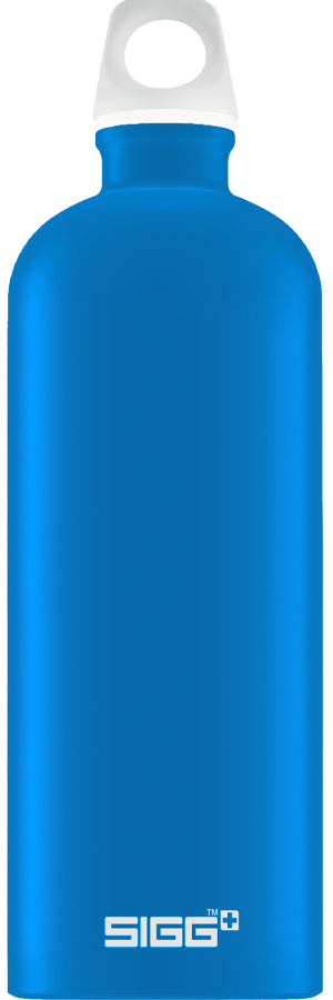 SIGG 1,0 L Lucid Electric Blue Touch juomapullo
