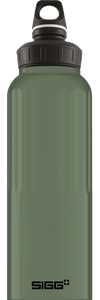SIGG 1,5 L WMB Traveller Leaf Green Touch juomapullo