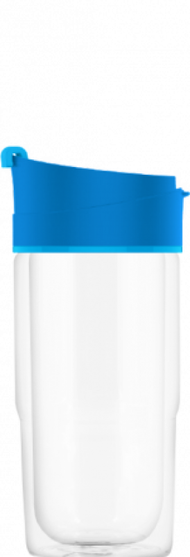 SIGG 0,37 L Nova Mug Electric Blue lasinen termosmuki
