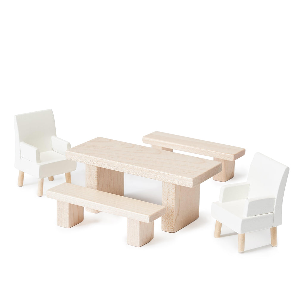 Milton & Goose Dining Room Dollhouse Furniture Set