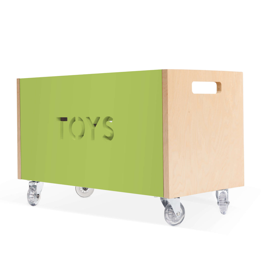 Nico & Yeye Toy Box Chest on Casters - Made to Order