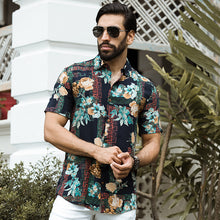 Load image into Gallery viewer, Floral Printed Short Sleeve Shirt