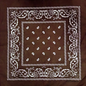 Brown Bandana