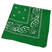 Load image into Gallery viewer, Green Bandana