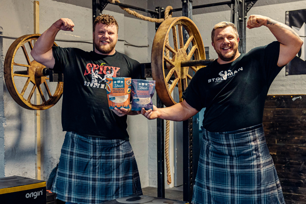 Powered by Porridge - Luke and Tom Stoltman, the World's Strongest Brothers