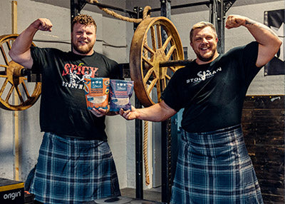 Luke & Tom Stoltman - Strong Man athletes & Scotland's Strongest men