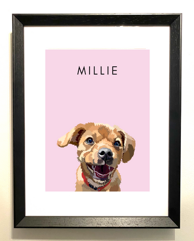 Bespoke Frame: One Pet