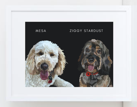 Bespoke Frame: Two Pets