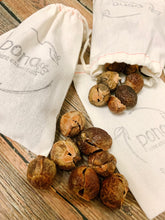 Load image into Gallery viewer, Laundry Detergent Alternative - Soap Nuts (Organic) - 25 nuts, 50 Loads of Laundry, includes 2 muslin bags