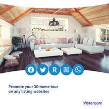 Load image into Gallery viewer, Asteroom's NEW 2nd Generation 3D Tour Kit with Phone Case Bundle