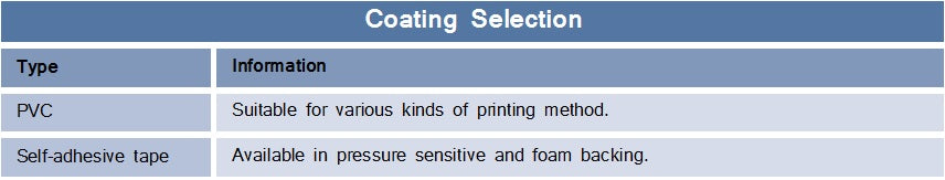 flexible magnet coating selection specifications