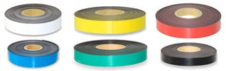coloured magnetic tape