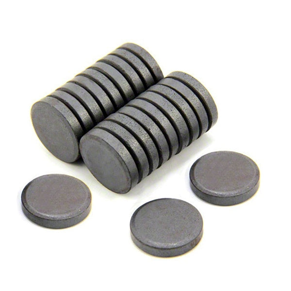 Ferrite Disc Magnet - 9.5mm x 3mm