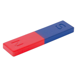 Ferrite Block Magnet (Painted Red/South Blue/North)