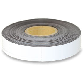 White Magnetic tape 50mm x 0.6mm x 120m roll