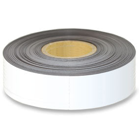 White Magnetic tape 75mm x 0.6mm x 60m roll