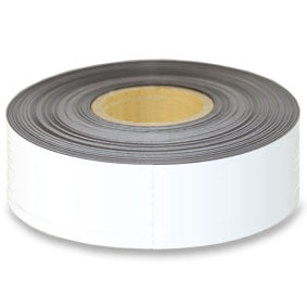 White Magnetic tape 100mm x 0.6mm x 60m roll
