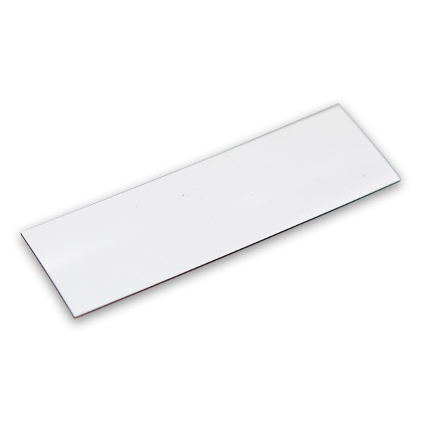 White Magnetic Labels 100mm