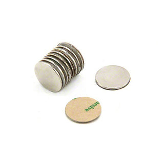 Neodymium Disc S/A Pair - 15mm x 1.5mm Sold Per Pair (N35)