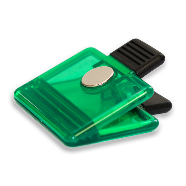 Whiteboard Green Clip Magnet