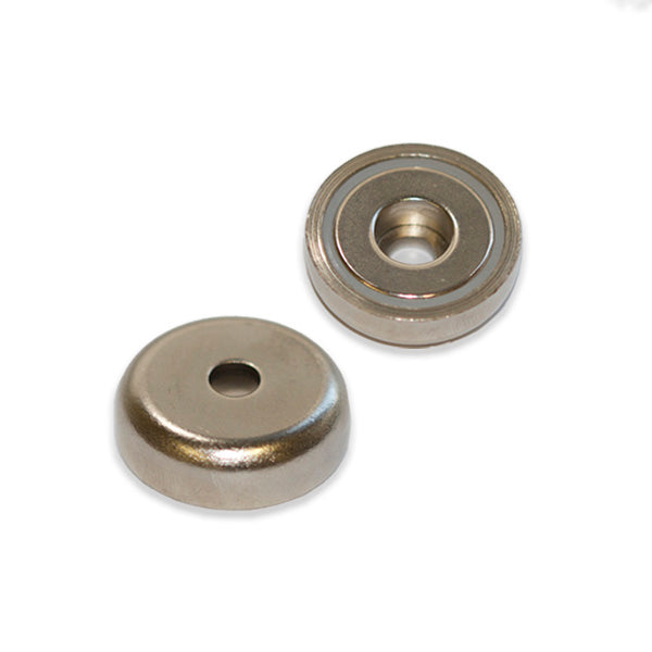 Neodymium Pot - Round Hole 36mm x 9mm