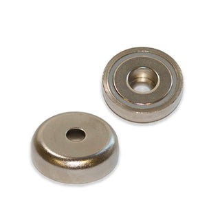 Neodymium Pot - Round Hole 48mm x 11.5mm