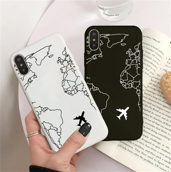 Luxury Popular Map Phone Case