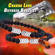 Load image into Gallery viewer, Chakra Lava Diffuser Bracelet