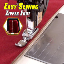 Load image into Gallery viewer, Easy Sewing Zipper Foot