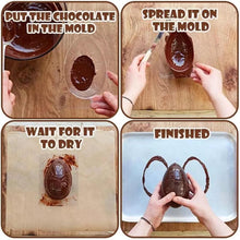 Load image into Gallery viewer, 3D Chocolate Egg Mold Set