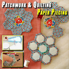 Load image into Gallery viewer, Patchwork & Quilting Paper Piecing