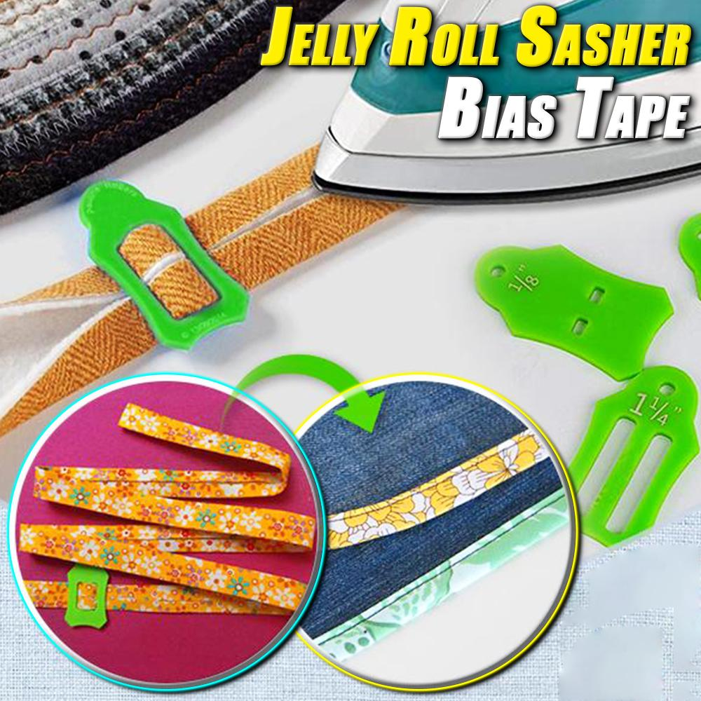 Jelly Roll Sasher Bias Tape Tool Set