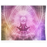 The Zen Fractal — Hanging Wall Tapestry - What Teens Need