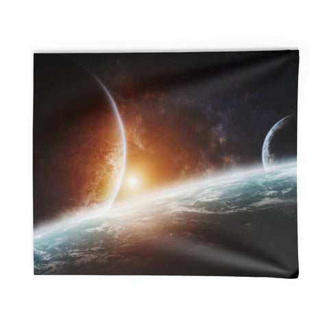 Sunrise For The Planets — Wall Tapestry - What Teens Need