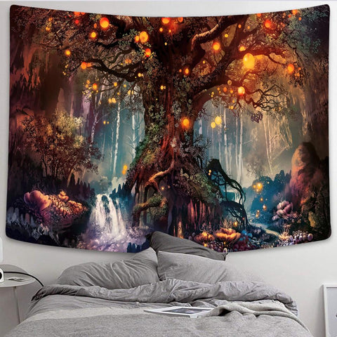 Simsant Mushroom Hanging Wall Tapestry — 7 Styles - What Teens Need