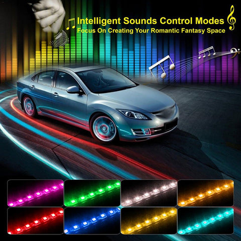 Govee LED Sound Activated Under Dash Strip Lights - What Teens Need