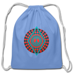 Cotton Drawstring Bag With Peace Illusion Design - What Teens Need