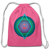 Cotton Drawstring Bag — Peace Illusion Version #2 - What Teens Need
