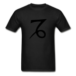 Capricorn Zodiac Sign (Black Version) — Gildan Ultra Cotton Mens T-Shirt - What Teens Need