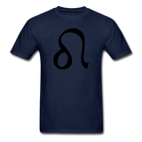 Leo Zodiac Sign (Black Version) — Gildan Ultra Cotton Mens T-Shirt - What Teens Need