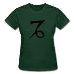 Capricorn Zodiac Sign (Black Version) — Gildan Ultra Cotton Ladies T-Shirt - What Teens Need