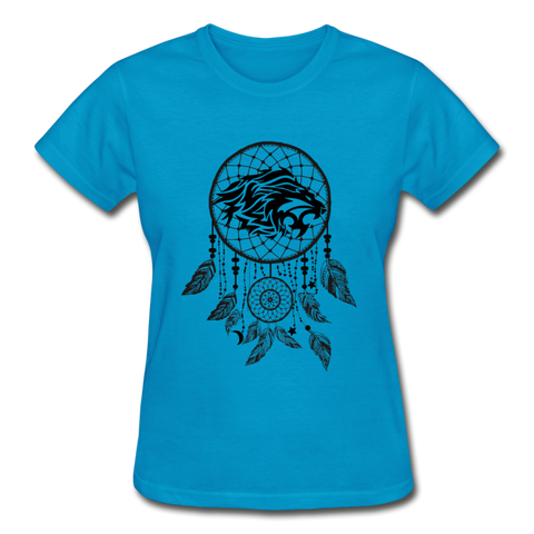 Roaring Lion Dream Catcher — Gildan Ultra Cotton Ladies T-Shirt - What Teens Need